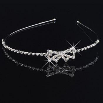 Stunning Rhinestone Bowknot Hairband For Women