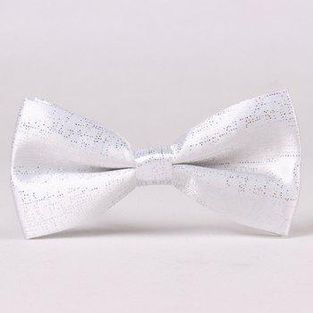 Stylish Sequins Embellished Solid Color Men's Bow Tie