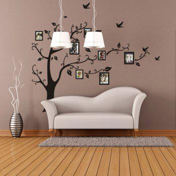 Stylish Large Size Plant Pattern Bedroom Decoration Photo Wall Stickers