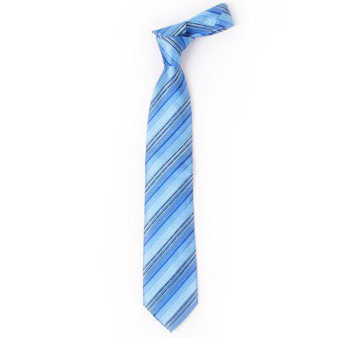 Stylish Various Twill Jacquard 8.5CM Width Blue Tie For Men