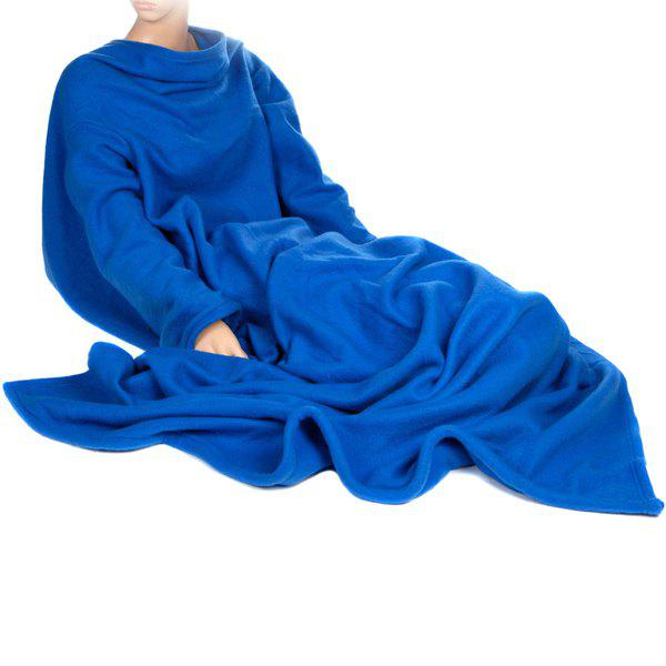 Useful Double-Sided Velvet Multi-Function Warm TV Blanket That Has Sleeves Snuggie Blanket от Dresslily.com INT