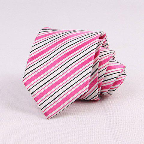Stylish Various Stripes Pattern 7CM Width Tie For Men