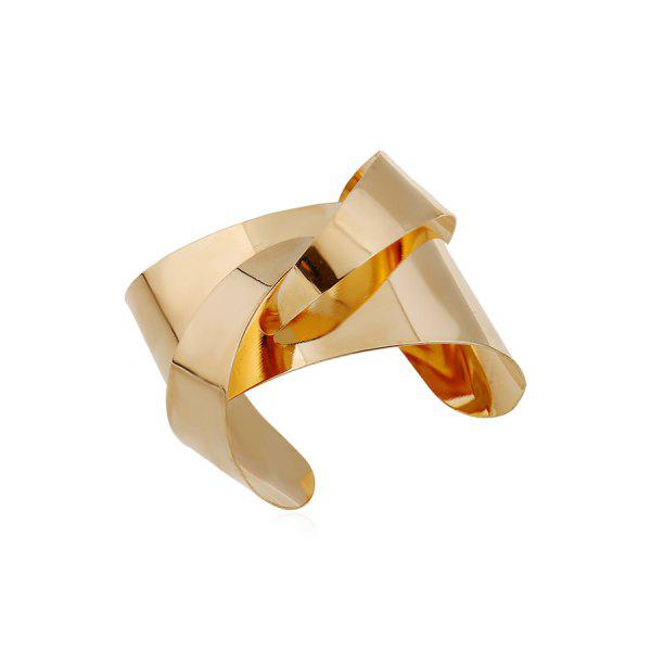 Chic Mirror Side Characteristic Cuff Bracelet For Women
