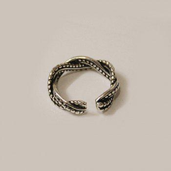 Alloy Wave Ring - SILVER ONE-SIZE