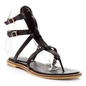 Trendy Flip Flops and Strap Design Sandals For Women