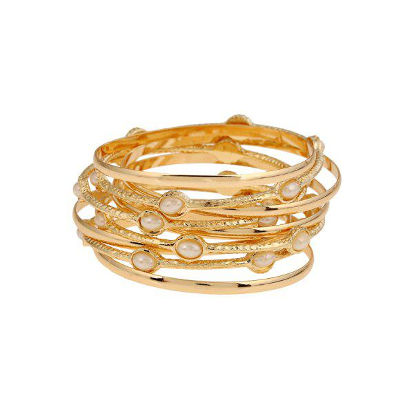 Stylish Alloy Multi-Layered Bracelet For Women