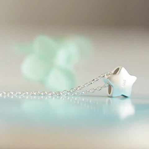 Star Pendant Necklace - SILVER