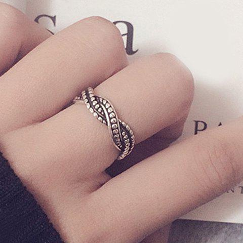 Chic Alloy Wave Ring For Women