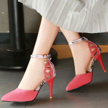 Fashion Suede and Pointed Toe Design Pumps For Women - 39 39