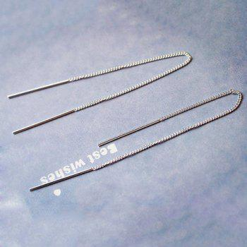 Sterling Silver Ear Thread