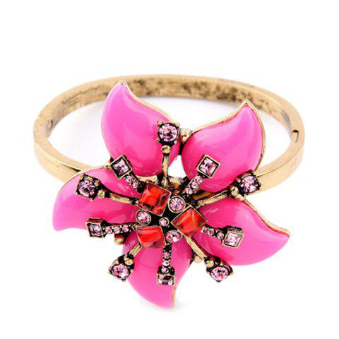 Chic Resin Floral Bracelet For Women
