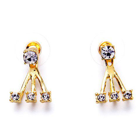 Rhinestone Claw Earrings