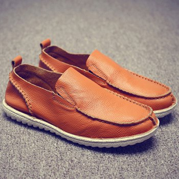 Trendy Solid Color and Slip-On Design Casual Shoes For Men - 42 42