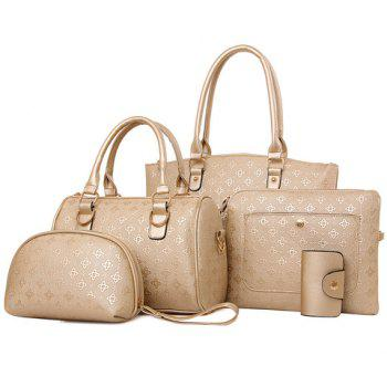 New Arrival PU Leather and Embossing Design Tote Bag For Women