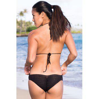 Openwork Crochet One-Piece Swimwear - ONE SIZE(FIT SIZE XS TO M) ONE SIZE(FIT SIZE XS TO M)