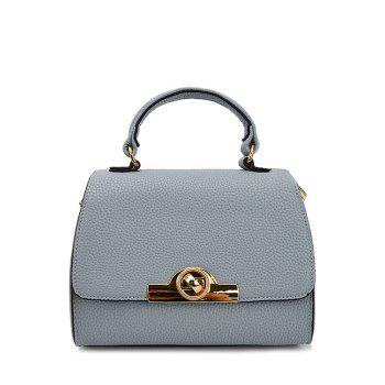 Elegant Solid Color and Hasp Design Tote Bag For Women