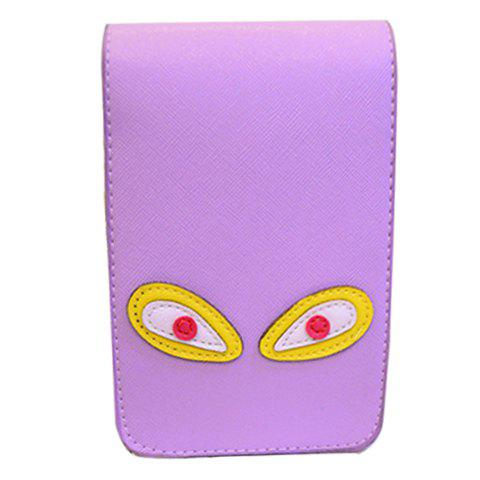 Cute PU Leather and Solid Colour Design Crossbody Bag For Women