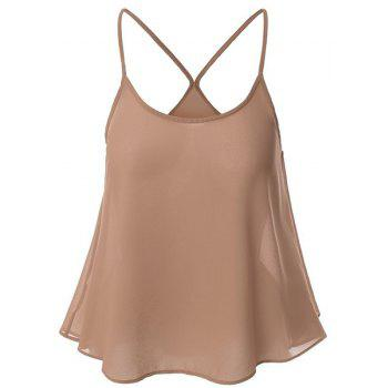 Spaghetti Strap Solid Color Camisole Top