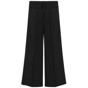 Brief Women's Black Plus Size Ninth Pants