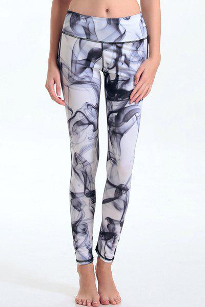 Trendy Elastic Waist Leggings For Women