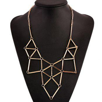 Spliced Geometry Necklace