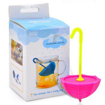 High Quality Creative Silicone Tea Filter Umbrella Shape Teabags Strainer