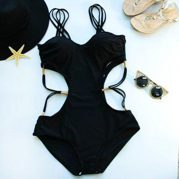 Hollow Out Strappy Swimsuits