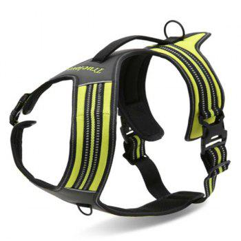 High Quality Comfortable Adjustable Breathable Dog Chest Harness Pet Vest Rope Collar