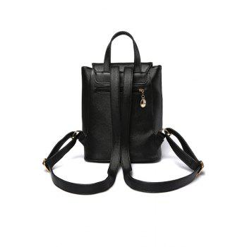 Preppy Cover and Solid Color Design Satchel For Women -  OFF WHITE