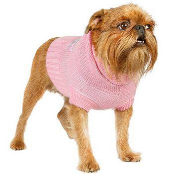 Stylish Pet Supplies Geometric Pattern Sweater Puppy Clothing