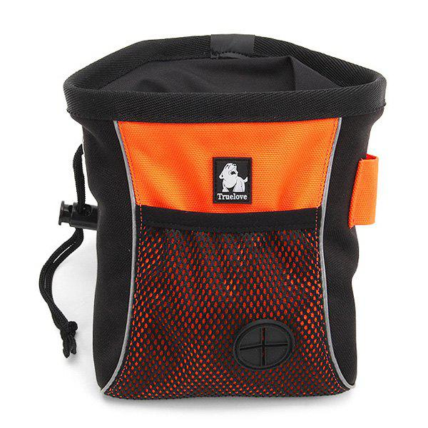 Hot Sale Durable Fluorescent Colour Pet Supplies Dog Storage Bag (Without Vest Rope Collar) - ORANGE M