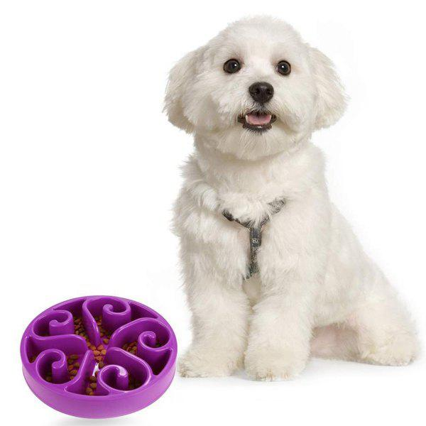 Hot Sale Fun Dog Cat Slow Food Feeder Pet Anti Choke Bowl automatic pet feeder dispenser feed food for dog cat wifi recording with 720p wifi camera phone wireless control feeder easy set