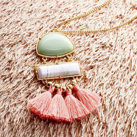 Gorgeous Geometric Tassels Sweater Chain For Women от Dresslily.com INT