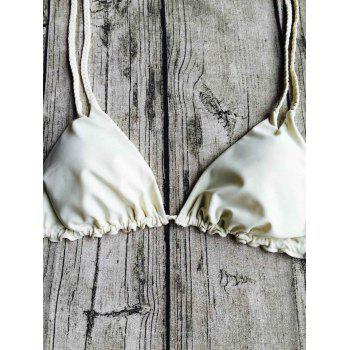String Printed Bikini Suit - M M