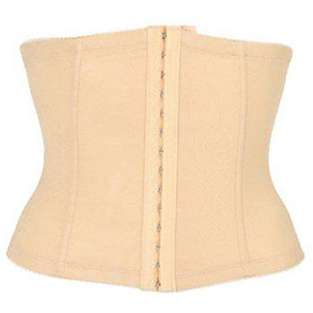 Fashionable Skinny Solid Color Women's Corset
