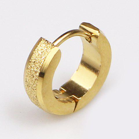 ONE PIECE Chic Alloy Earring For Men - GOLDEN