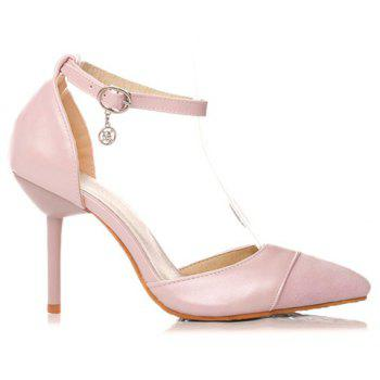 Graceful Two-Piece and Splicing Design Women's Pumps - 37 37