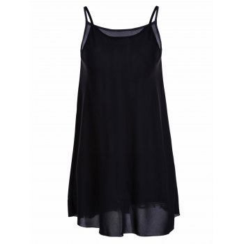Fashionable Pure Color Spaghetti Strap Women's Dress