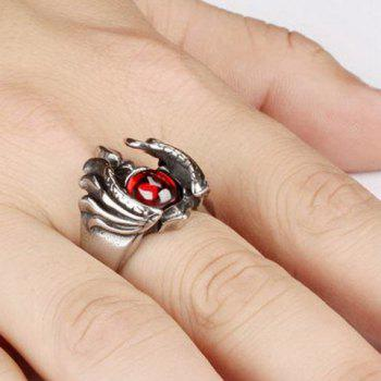 Faux Ruby Ring - ONE-SIZE ONE-SIZE