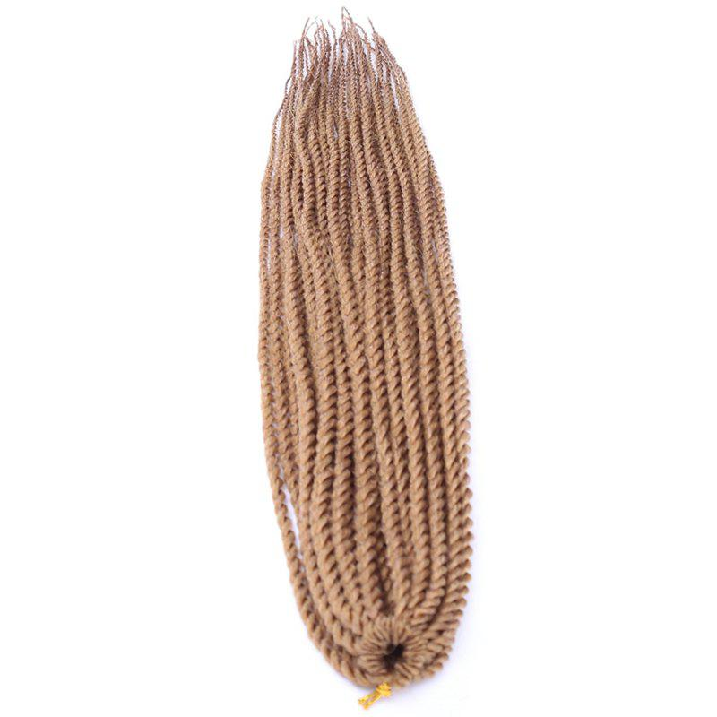 Stunning Long Synthetic Dreadlock Braided Hair Extension For Women -  GOLDEN BLONDE