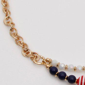 Animal Multilayered Beads Necklace - GOLDEN