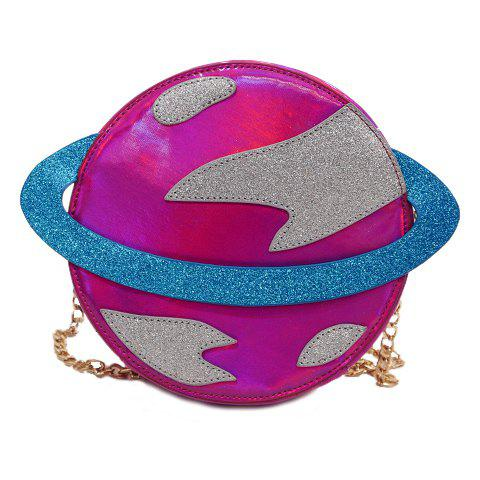 UFO Chain Shoulder Bag - ROSE