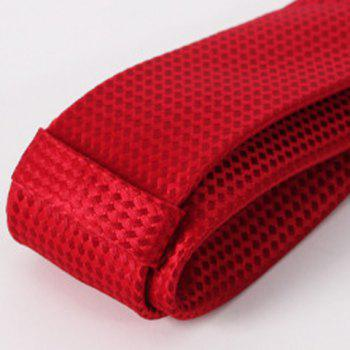 Stylish Men's Red Weaving Tie - RED