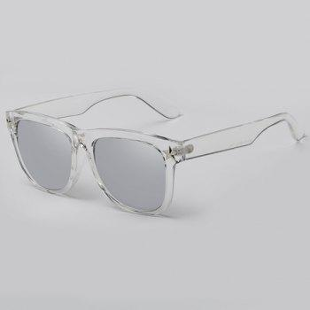 Chic Small Five-Pointed Star Shape Embellished Women's Transparent Sunglasses -  SILVER