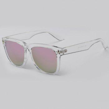 Chic Small Five-Pointed Star Shape Embellished Women's Transparent Sunglasses -  PINK