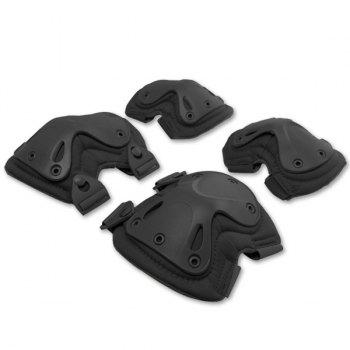 4PCS High Quality Outdoor Cycling Roller Skating Climbing Elbow Knee Guard Safety Protector