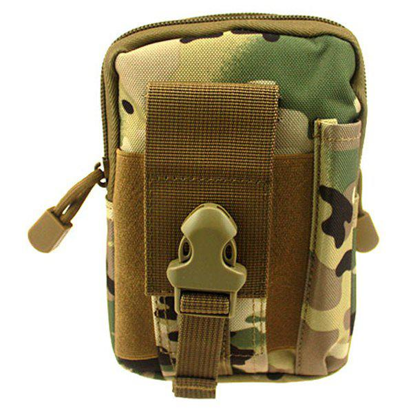 High Quality Outdoor Sports Cycling Hiking Storage Bag Camouflage Color Tactical Waist Pack - CP CAMOUFLAGE
