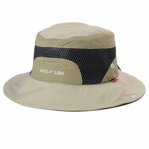 84f468c8006 41% OFF  2019 Fashion Letter Embroidery Breathable Mesh Bucket Hat ...