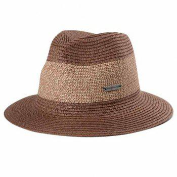 Chic Labelling Embellished Color Block Sun-Resistant Women's Straw Hat