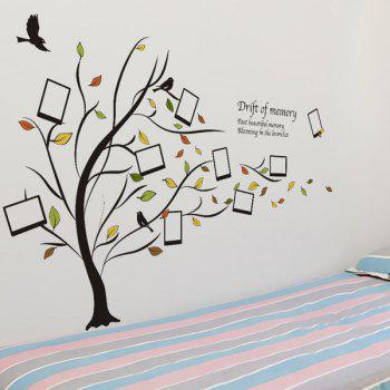 Chic Tree Pattern Photo Wall Sticker For Livingroom  Bedroom Decoration - COLORMIX